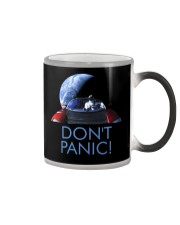 DON'T PANIC - Starman in Space with Roadster Color Changing Mug thumbnail