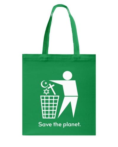 Save the planet - trash religion