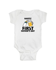 HAPPY FIRST FATHER'S DAY Onesie front