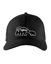 PAPA BEAR AND BABY BEAR Embroidered Hat front