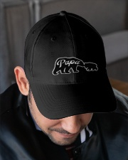 PAPA BEAR AND BABY BEAR Embroidered Hat garment-embroidery-hat-lifestyle-02