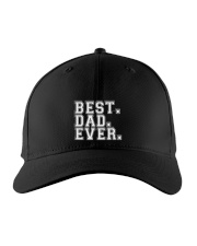 BEST DAD EVER Embroidered Hat front