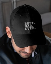 BEST DAD EVER Embroidered Hat garment-embroidery-hat-lifestyle-02