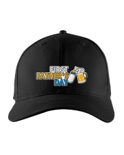 FIRST FATHER'S DAY Embroidered Hat front