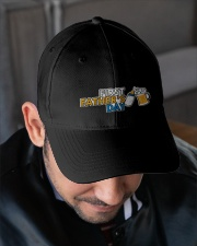 FIRST FATHER'S DAY Embroidered Hat garment-embroidery-hat-lifestyle-02