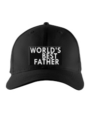 WORLD'S BEST FATHER Embroidered Hat front