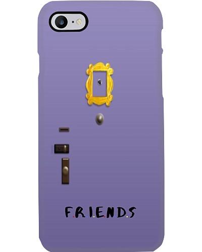 Purple Door Phone Case iPhone Case Friends door