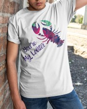 Valentine Day - you are my lobster  Classic T-Shirt apparel-classic-tshirt-lifestyle-27