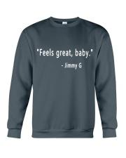 feels great baby Crewneck Sweatshirt thumbnail