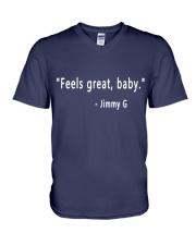 feels great baby V-Neck T-Shirt thumbnail