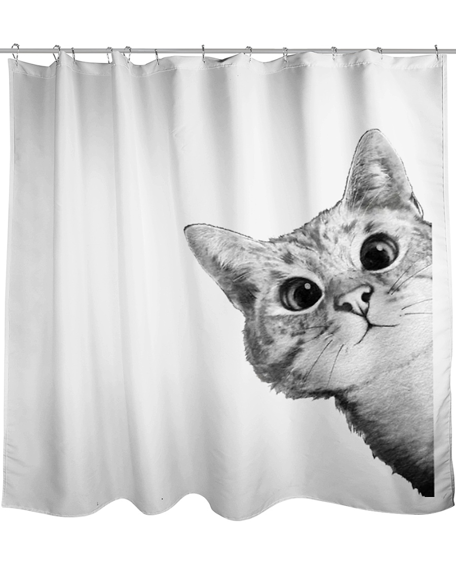 cats  crazy Shower Curtain