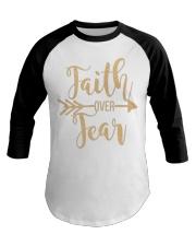 Faith Over Fear  Baseball Tee thumbnail