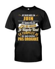Je Suis Nee En 6 Classic T-Shirt front