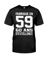 excellence 59 Classic T-Shirt front