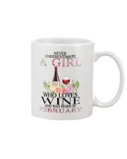 febuary who loves wine Mug thumbnail