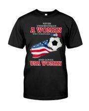 football usa Classic T-Shirt thumbnail