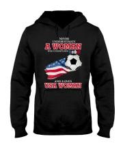 football usa Hooded Sweatshirt thumbnail