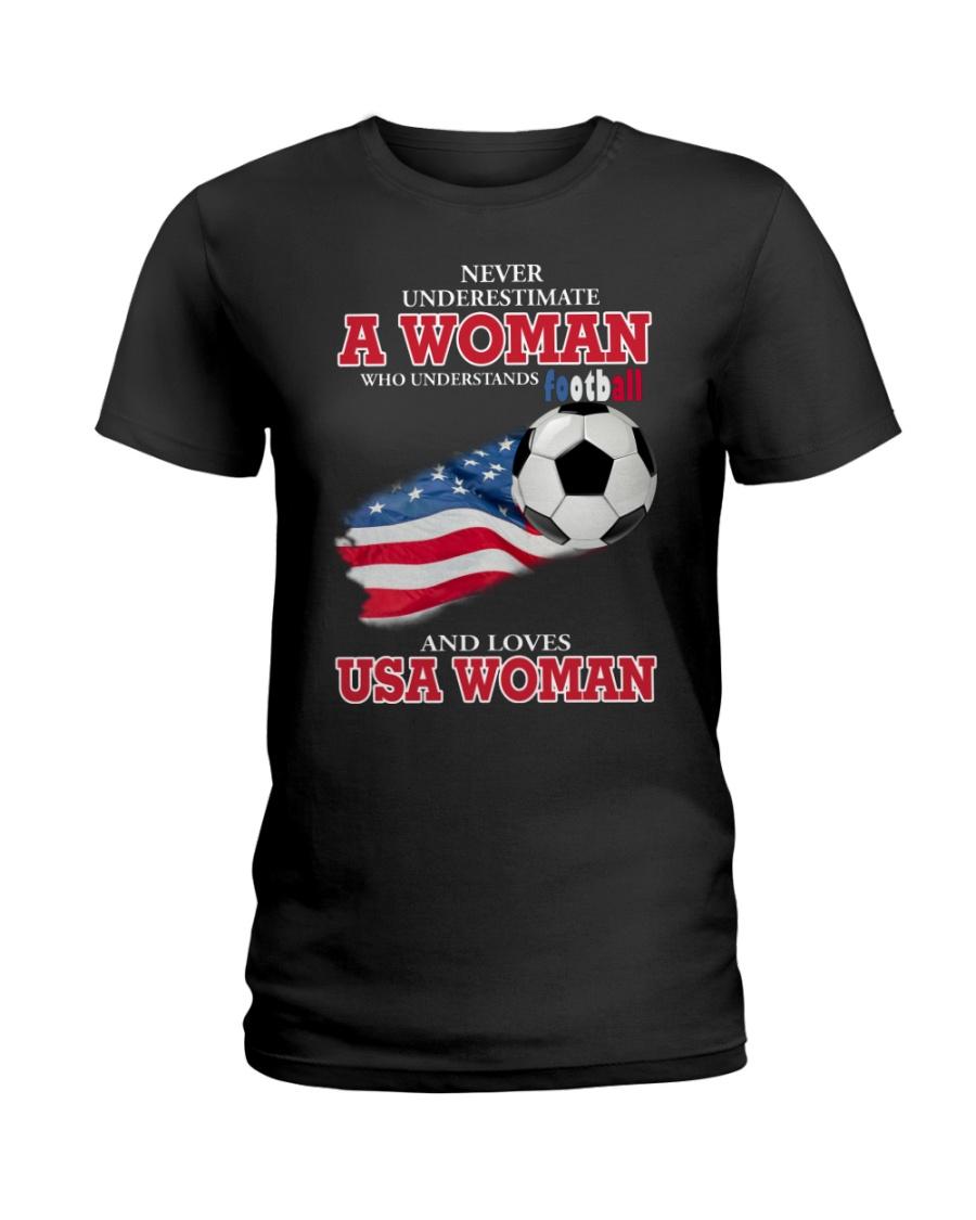 football usa Ladies T-Shirt