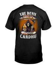 the devil cardhu Classic T-Shirt back