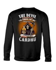 the devil cardhu Crewneck Sweatshirt thumbnail