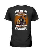 the devil cardhu Ladies T-Shirt thumbnail