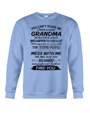 january grandma Crewneck Sweatshirt thumbnail