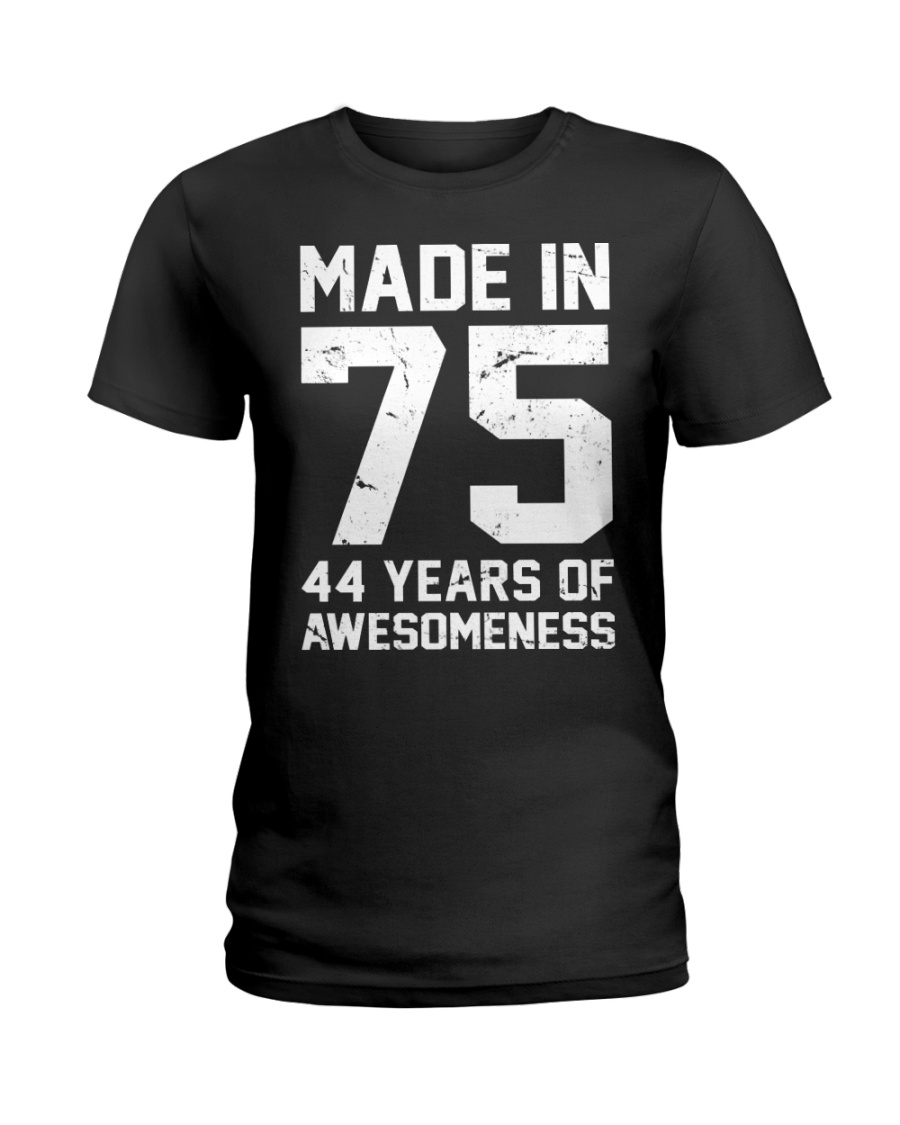 made in 75 Ladies T-Shirt