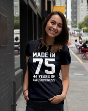 made in 75 Ladies T-Shirt lifestyle-women-crewneck-front-5