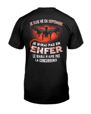 septembre enfer Classic T-Shirt back