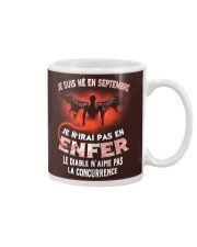 septembre enfer Mug tile