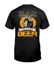 devil beer Classic T-Shirt back