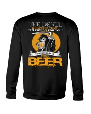 devil beer Crewneck Sweatshirt thumbnail