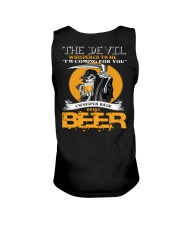 devil beer Unisex Tank tile