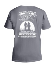 march husband V-Neck T-Shirt thumbnail