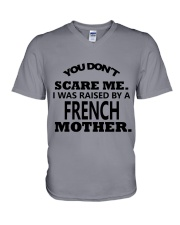 I was raise by a French mother V-Neck T-Shirt thumbnail