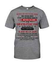 d'un grand pere fou juin Classic T-Shirt thumbnail