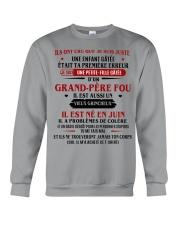d'un grand pere fou juin Crewneck Sweatshirt thumbnail