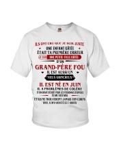 d'un grand pere fou juin Youth T-Shirt front