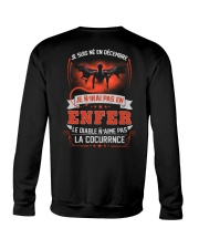 decembre je n'irai pas en enfer Crewneck Sweatshirt thumbnail