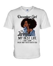 December Girl V-Neck T-Shirt thumbnail