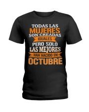 octubre todas las Ladies T-Shirt front