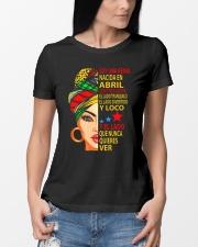 abril soy una reina Ladies T-Shirt lifestyle-women-crewneck-front-10