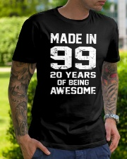 being awesome99 Classic T-Shirt lifestyle-mens-crewneck-front-7
