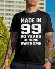 being awesome99 Classic T-Shirt lifestyle-mens-crewneck-front-8