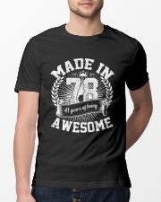 made in 78 awesome Classic T-Shirt lifestyle-mens-crewneck-front-13