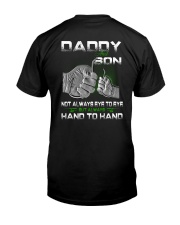 daddy and son fish Classic T-Shirt back