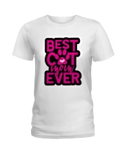 best cat Ladies T-Shirt front
