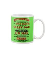 crazy dad march Mug thumbnail