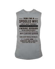 spoiled wife august Sleeveless Tee thumbnail