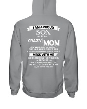 crazy mom august Hooded Sweatshirt thumbnail